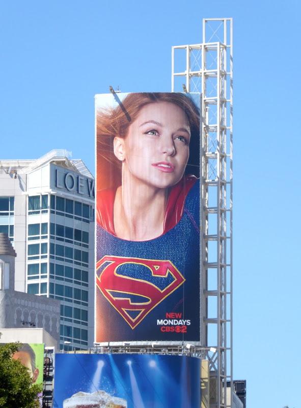 Supergirl season 1 billboard