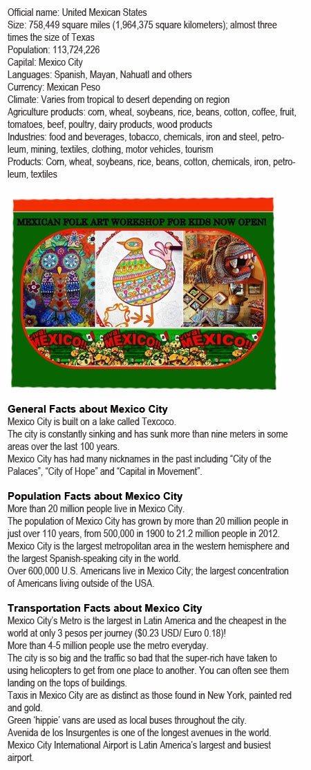 Facts on Mexico for kids