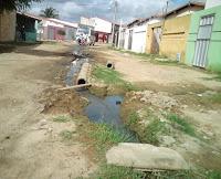 SENADOR POMPEU: Moradores de bairro aguardam ansiosos, por saneamento. FOTO: Walter Lima
