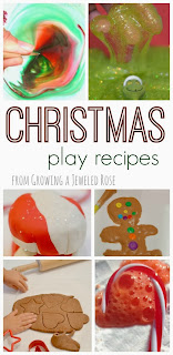 Christmas play recipes from Growing a Jeweled Rose