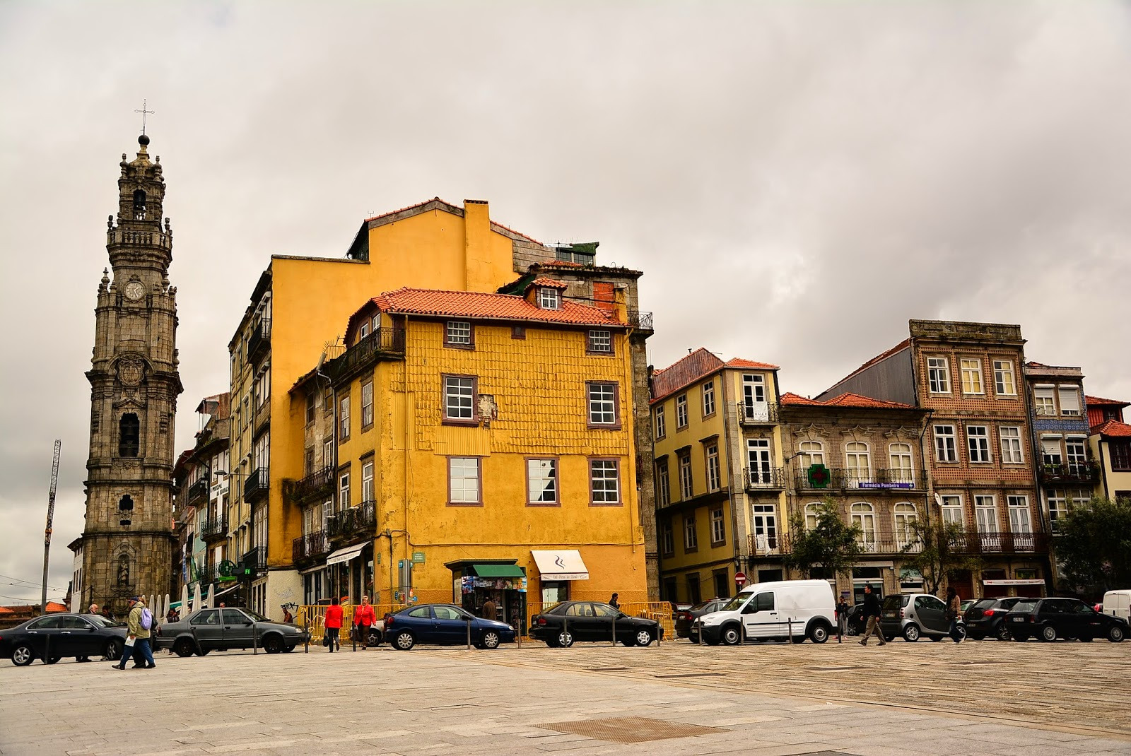 The Torre Dos Clrigos From Campos Mrtires Da Patria
