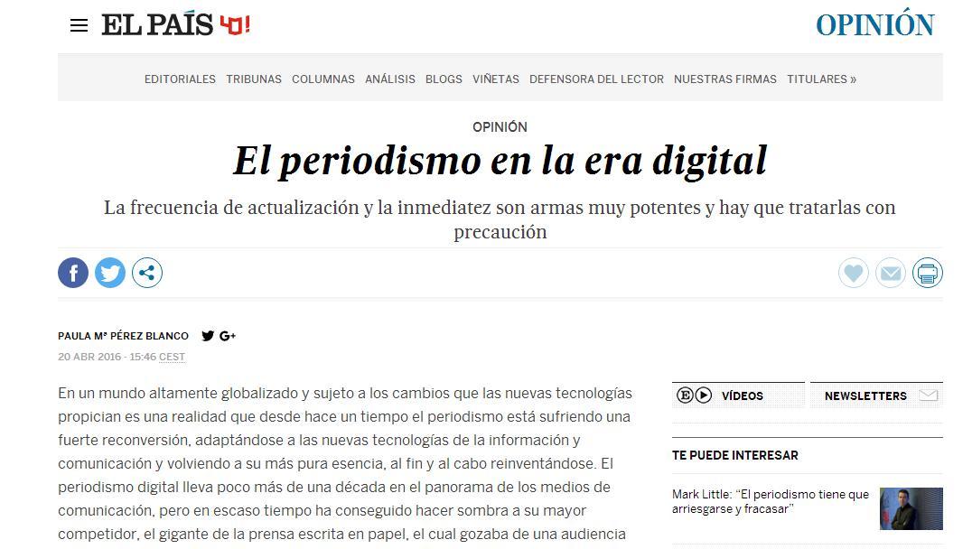 MI ENSAYO PUBLICADO EN EL PAÍS: