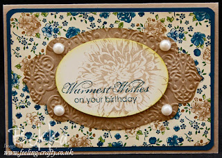 Blooming with Kindness Birthday Card by Stampin' Up! Demonstrator Bekka Prideaux - check out her blog for lots of great ideas