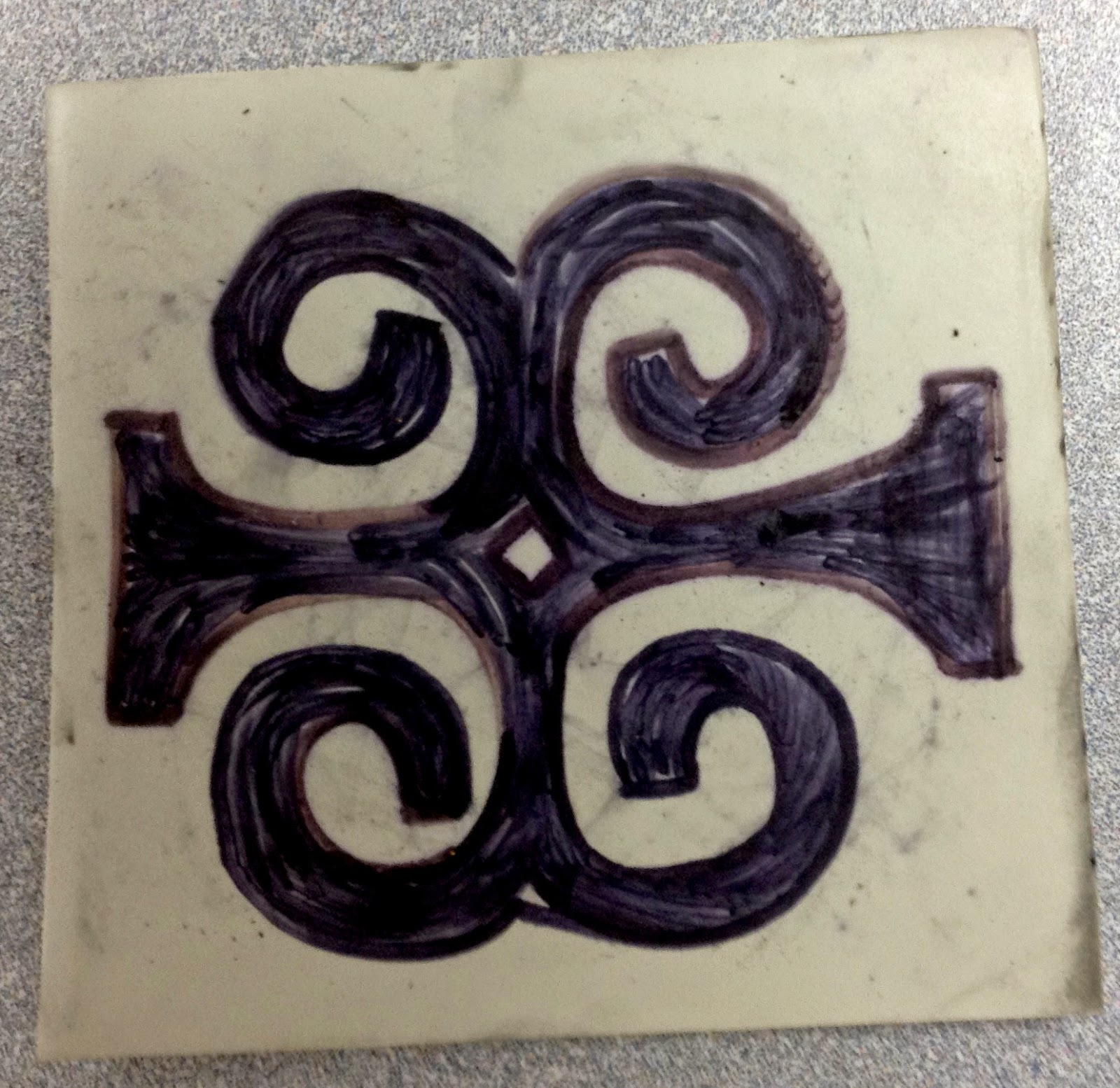 Bailey Elementary Art 5th Grade Relief Printmaking With Adinkra
