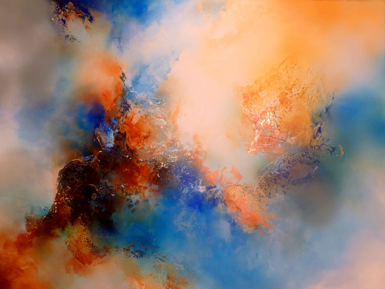 Abstract paintings by artist simon kenny abstract for Abstract artwork for sale