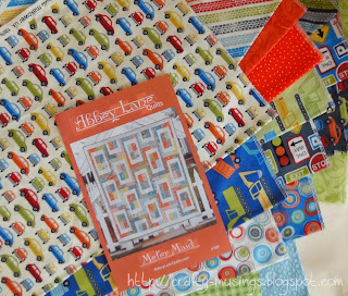 and a little something new-- fabrics a quilt for Little Bear!