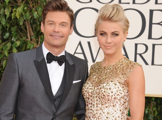 Julianne Hough and Ryan Seacrest had split