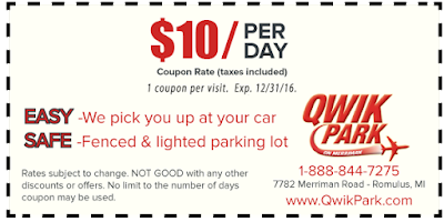 Miami airport parking coupons