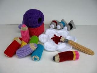 вязание крючком, вязаные игрушки, вязаные мелочи, вязаные игрушки, подборка креатива,