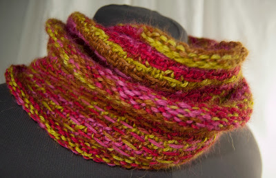 Cascade Yarns Blog: Double Woven Stitch Scarf - Pure Alpaca Paints
