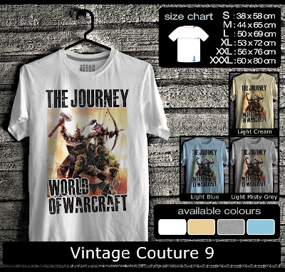 kaos distro vintage couture 9