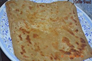 Bread & Buns, Breakfast, Chapati, Flat Bread, Paratha, Square paratha
