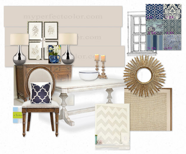Alamode client e decor board accessorize my dining room for Decorative dining table accessories
