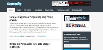 5 Situs Blogger Terpopuler di Indonesia 2015