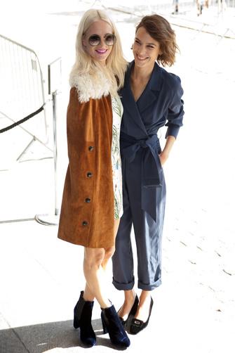 Poppy Delevingne y Alexa Chung