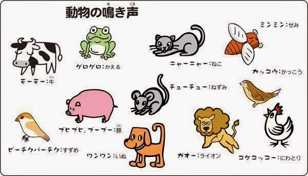 英語 動物 鳴き声 日本語と全然違う!「動物の鳴き声」英語で言うと?