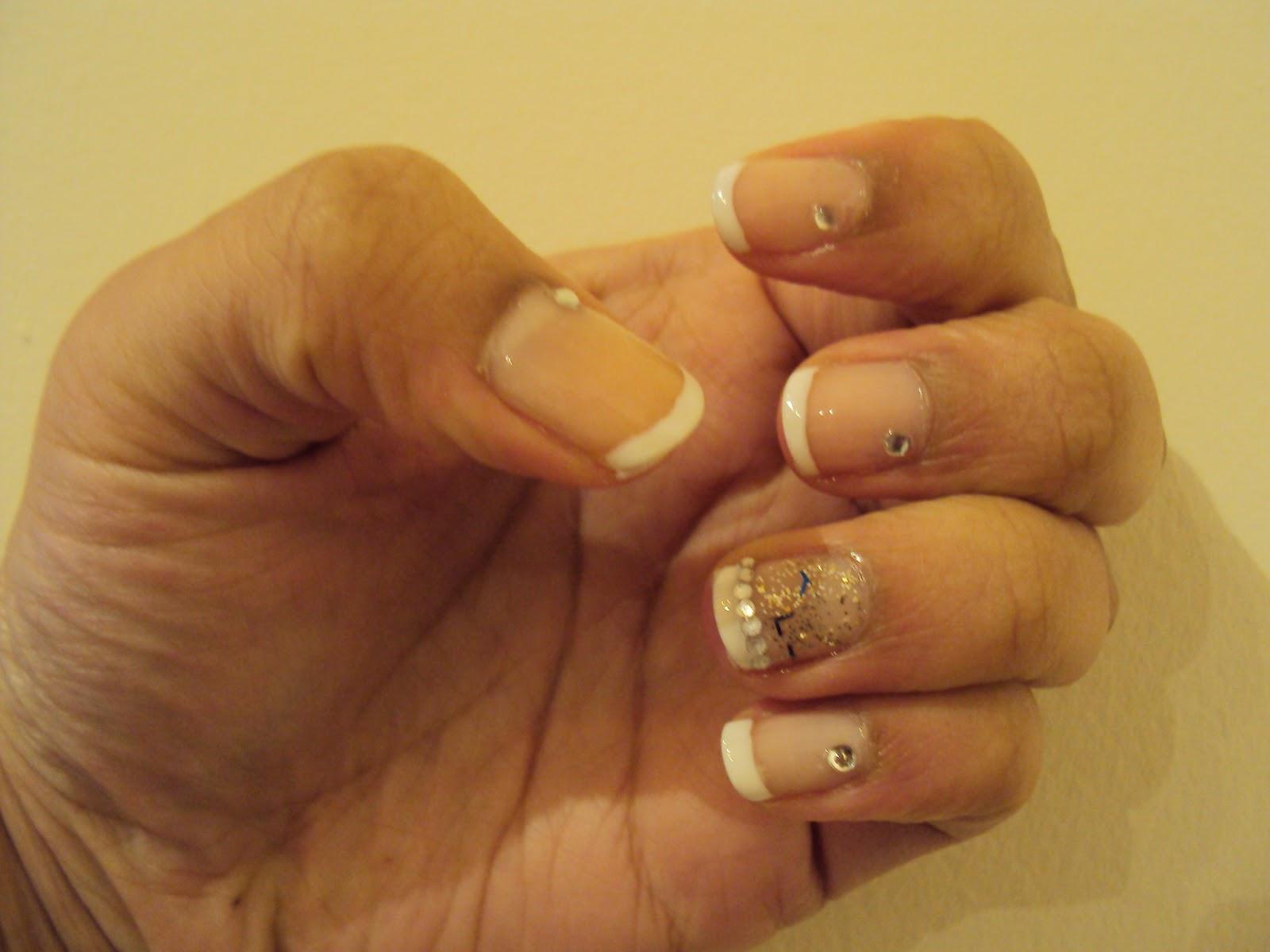 Christmas Party Nails | Nail Art by Lena