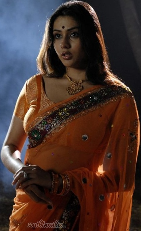 sexy images namitha in spicy saree stills