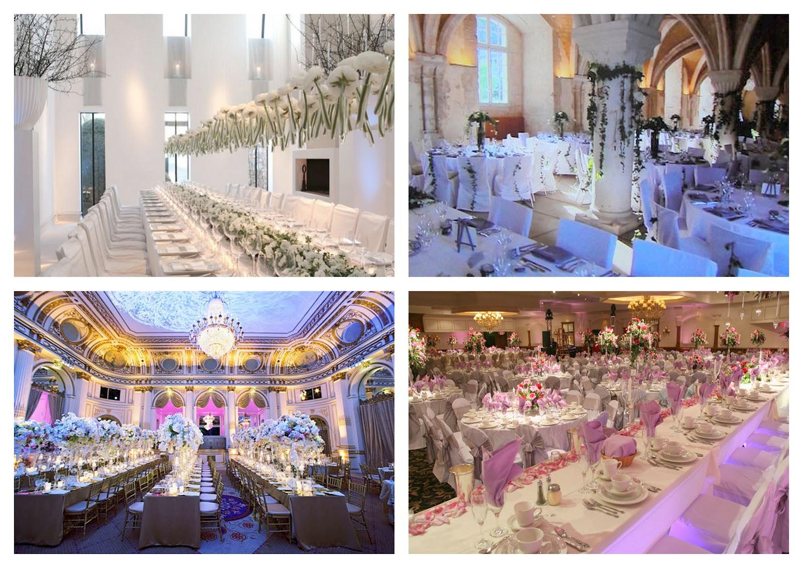 Matrimonio E Un Tocco Di Classe: Decorar La Sala De La Recepción #3E4C8D 1600 1131 Sala Da Pranzo Pavimento Grigio