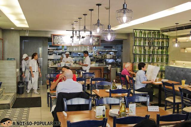 Cyma Greek Restaurant in Makati City