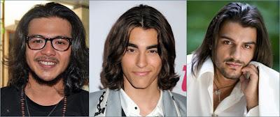 model rambut panjang kasual