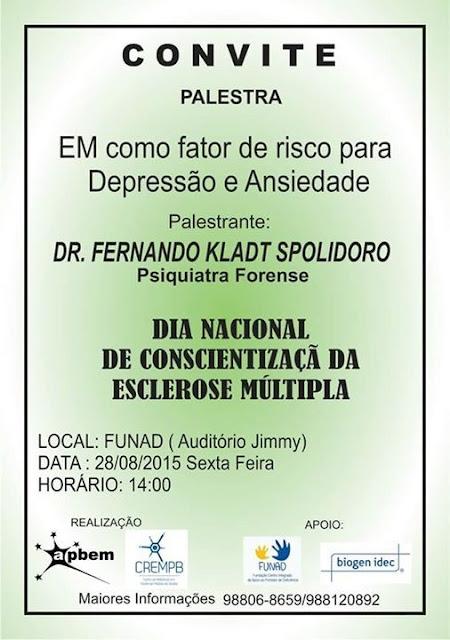 Dia Nacional da Conscientização da Esclerose Múltipla - APBEM