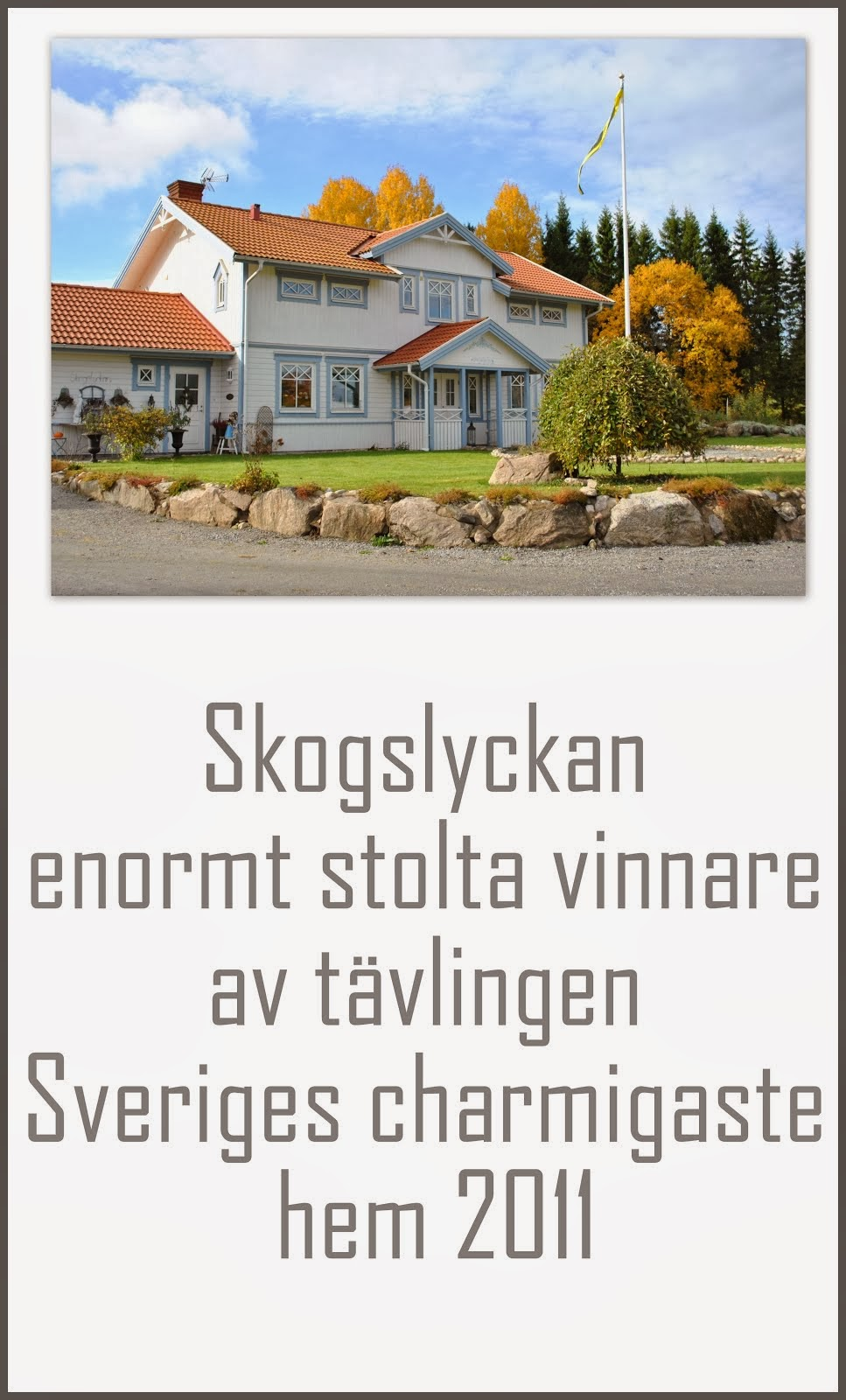 Sveriges charmigaste hem 2011