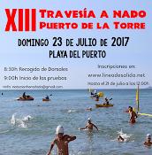 XIII TRAVESÍA A NADO PUERTO  DE LA TORRE