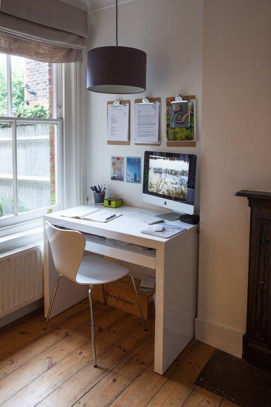 15 idee intelligenti come creare un angolo ufficio in una piccola casa home staging italia - Ufficio in casa ...