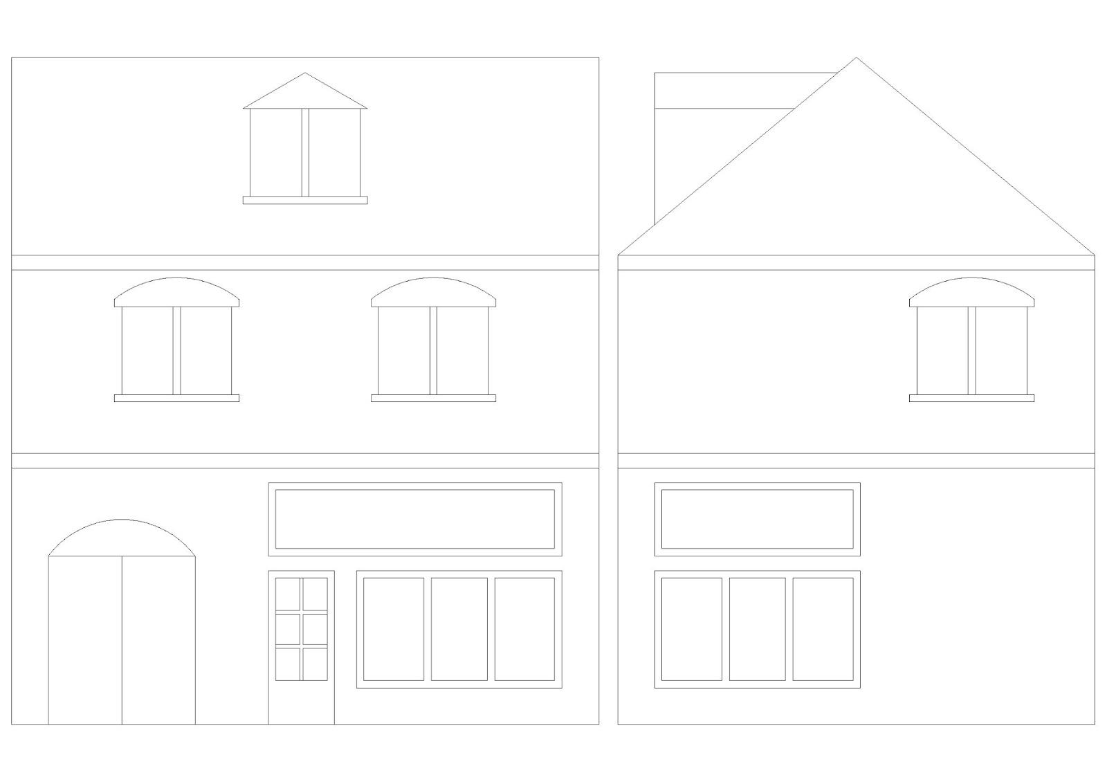 Encobertura escenograf a edificio para miniaturas de 28 mm for Programa para hacer planos a escala