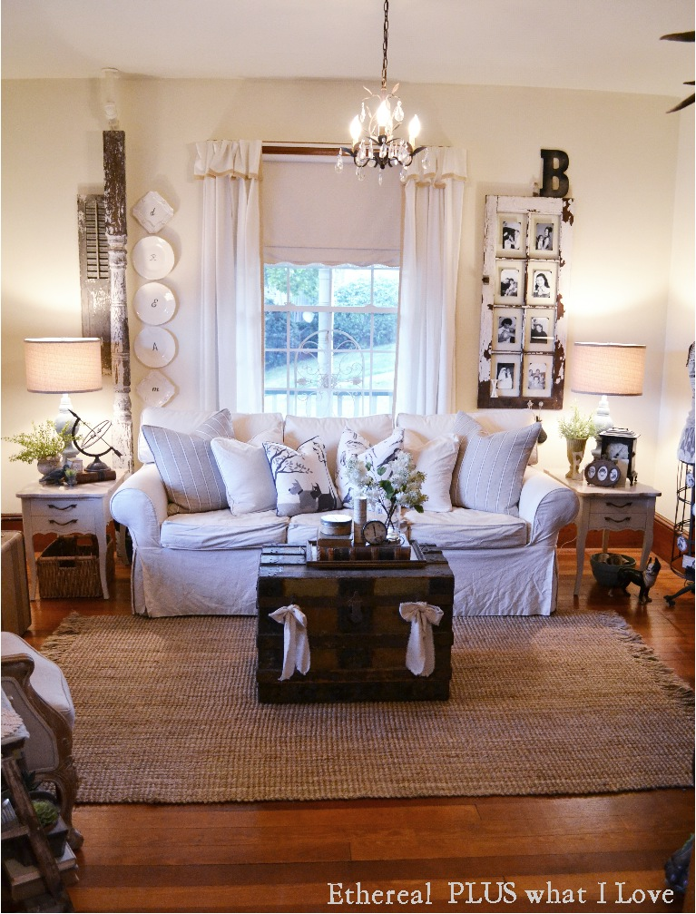 Ethereal plus what i love living room tour for S carey living room tour