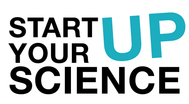 Logo konkursu Startup your Science