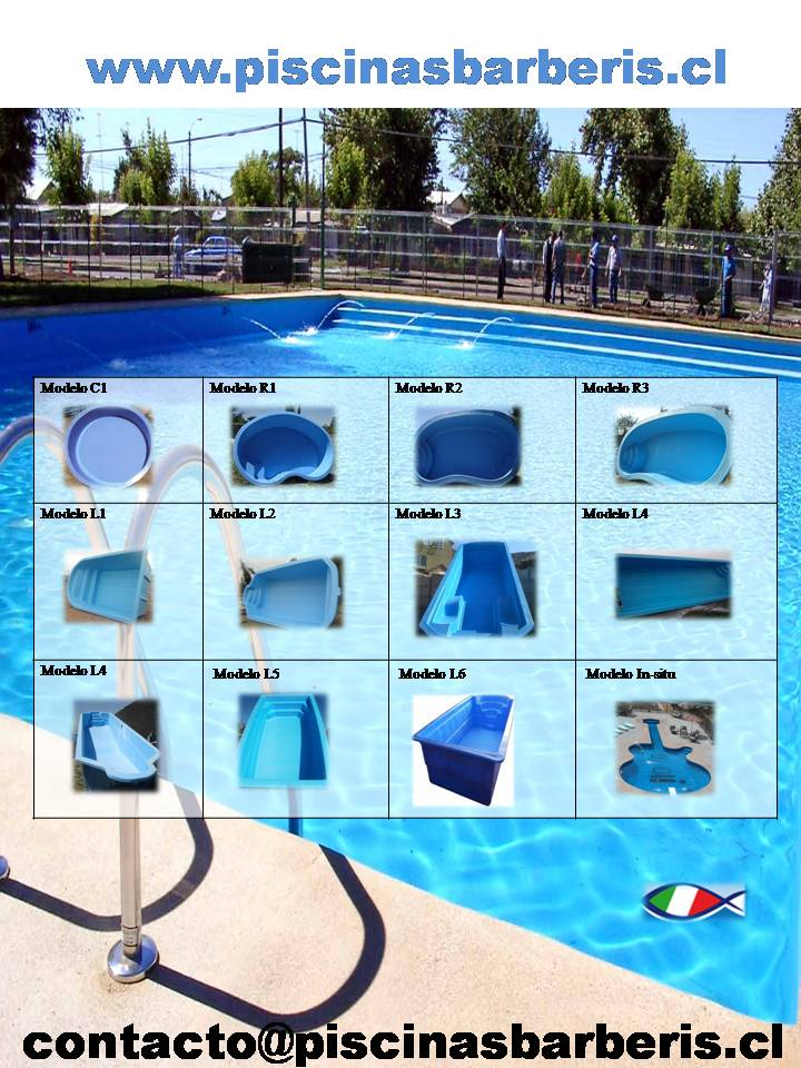 Piscinas barberis for Precio instalacion piscina fibra