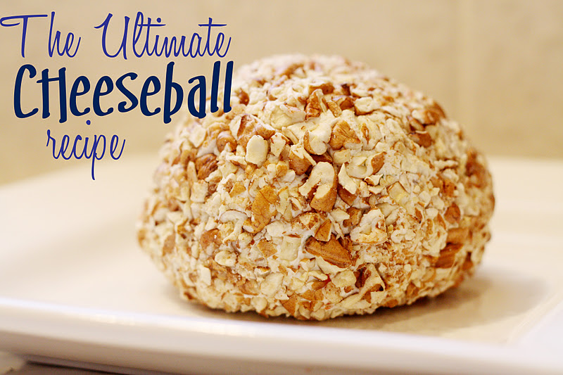 Lovely Little Snippets: The Ultimate Cheeseball Recipe