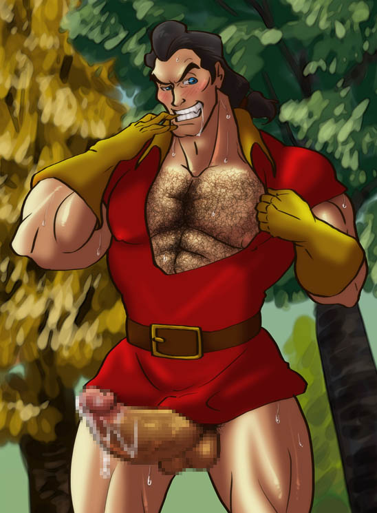 Porn gaston the disney and beauty beast