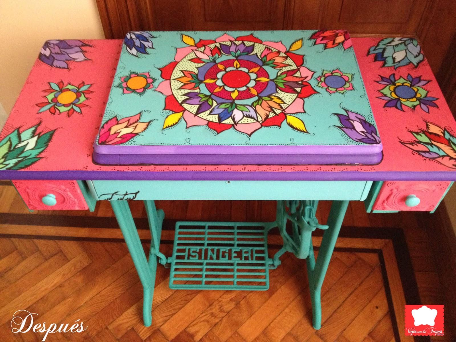 Reciclado de muebles antiguos imagenes - Decoracion vintage reciclado ...