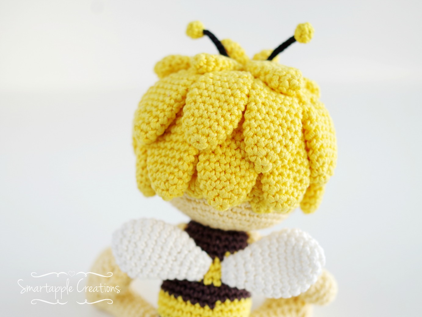 Smartapple Creations - amigurumi and crochet: Maya the Bee