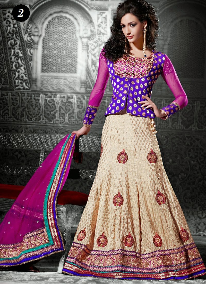 Ghagra Choli Blouse Patterns 61