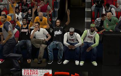 NBA 2K13 Sideline Crowd Mod