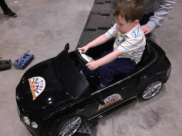 Child's Black Electric Car