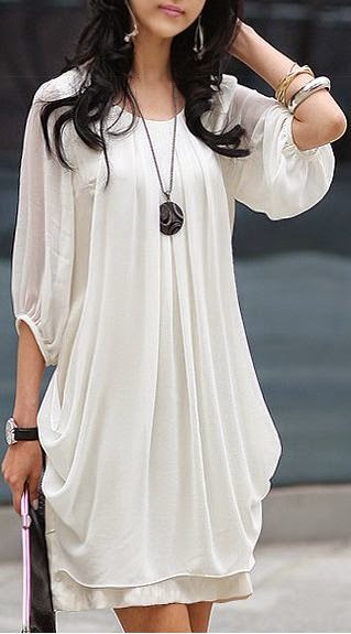 White Chiffon, Real summer comfort with style