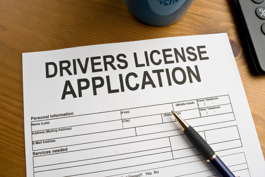 Apply for driver's license