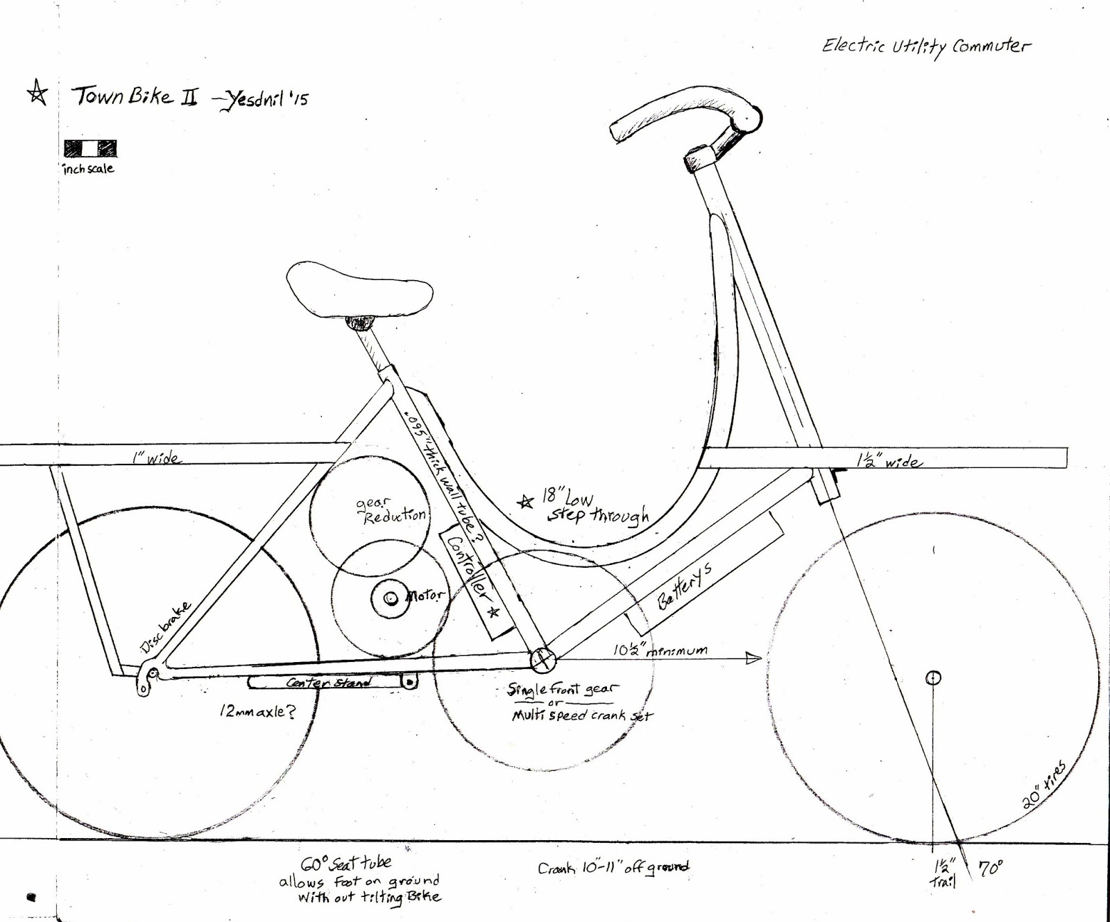 Utility Cycling Technology Building Cargo Bikes From Recycled Bikes