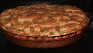 Apple Crisp– Pie!*