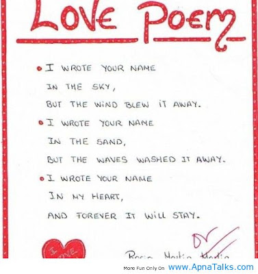 Poem Of Love