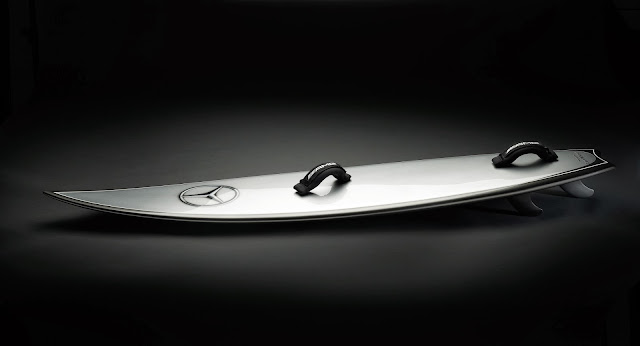 Mercedes Benz SurfBoard