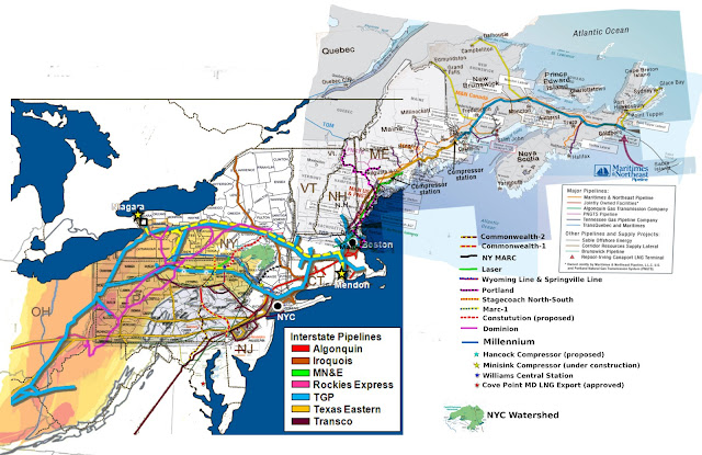 summary of major facilities in the northeast focusing on ny and pa