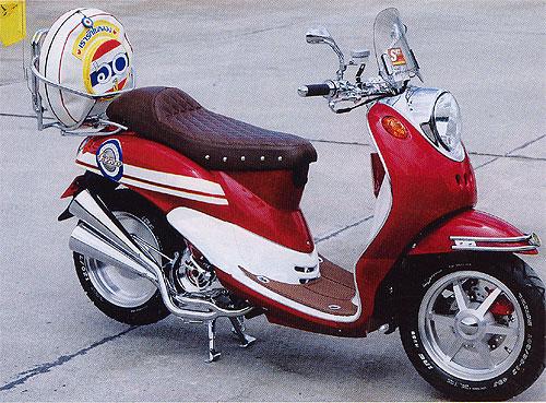 Gambar Modifikasi Motor Yamaha Fino
