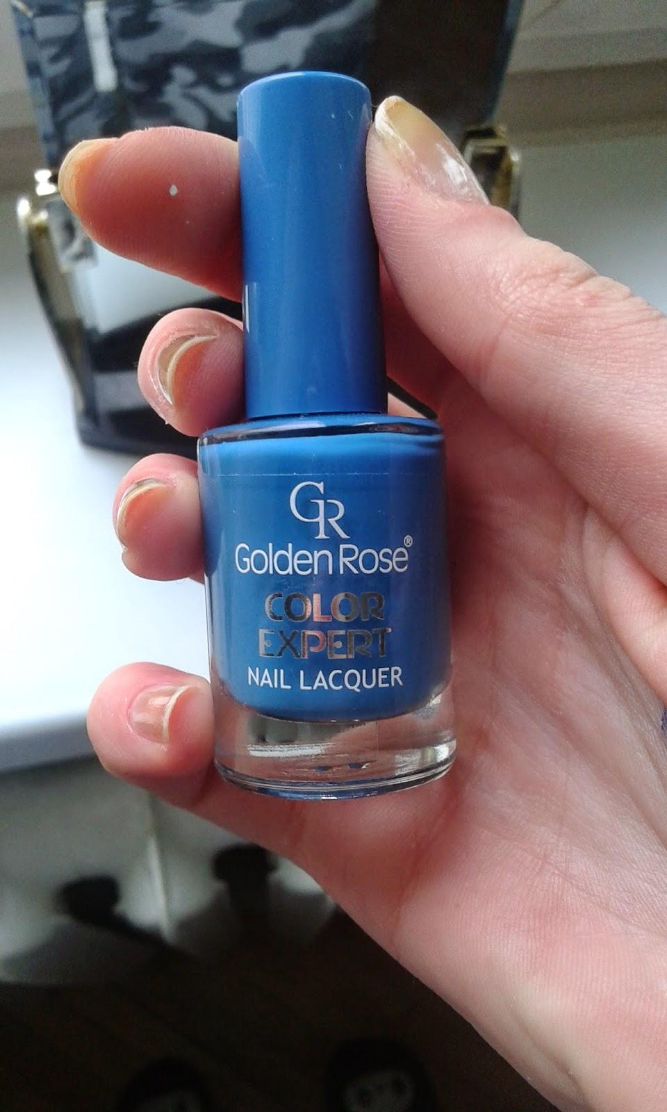 Golden Rose Color Expert 65 czyli niespodzianka od mamy ;)