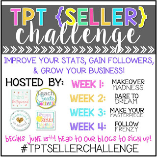http://sparklinginsecondgrade.blogspot.com/2015/06/tpt-seller-challenge-week-2-dare-to.html